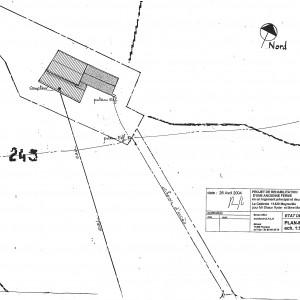 Etat des lieux, plan-masse