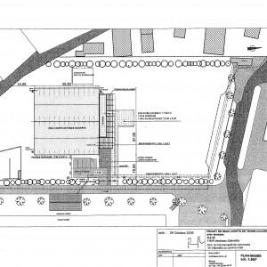 Projet, plan-masse