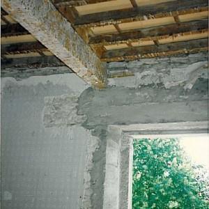 chantier; plafond étage