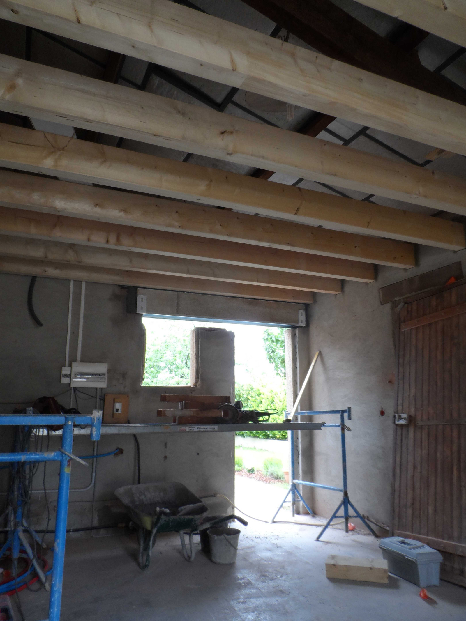 transformation du garage d une maison individuelle bruno geli architecte dplg lab ge. Black Bedroom Furniture Sets. Home Design Ideas
