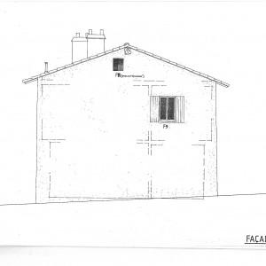 Projet; façade Est