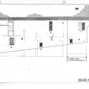 Projet; façade Nord