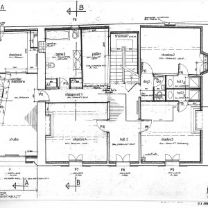 Projet; plan de l'étage